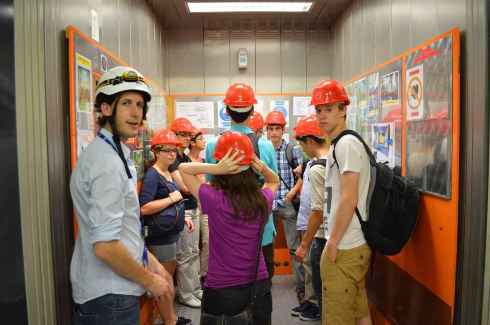 P-Seminar am CERN 2014