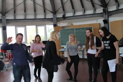 UL_9 Choreographie-Proben des Medleys