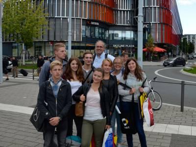 Gruppenfoto am Ausgang